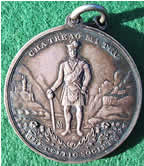 Scotland The Celtic Society medal silver c. 1820