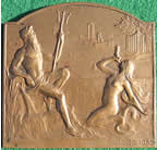 Liege Exposition Internationale medal plaquettel 1939