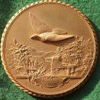 France, Franco-Prussian War 1870-71, Pigeon Post medal by Fraisse