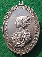 Charles I Civil War badge medal