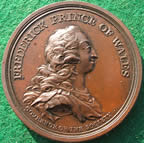Frederick Prince of Wales medal 1750