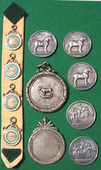 Scottish Agricultural Medals to Belfrage Black family