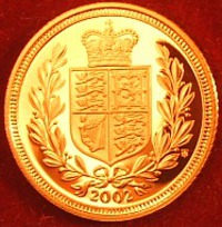 Proof Half-Sovereign 2002 Golden Jubilee