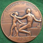 Festival of Britain 1951 Vincze medal