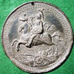 France Louis-Auguste de Bourbon  medal