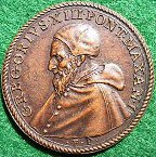Massacre of the Huguenots 1572 medal