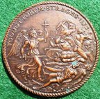 St Bartholemew's Day Massacre 1572 medal