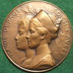 Nurse Edith Cavell medal 1918
