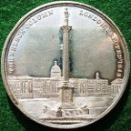 Nelson's Column erected 1843 medal