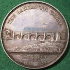 Lancaster Canal Company medal 1885