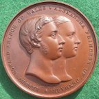 Prince of Wales marriage 1863 medal