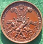 Prince of Wales typhoid recovery medal