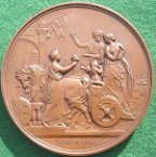 City of London Duke & Duchess of York visit 1893 medal