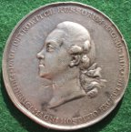 Russia (Россия), Paul Petrovitch, Grand Duke, later Paul I (1796-1801), visit to Berlin 1776, silver medal