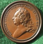 John Friend medical medal 1728