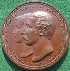 Arthur Duke of Connaught & Princess Louise of Prussia medal