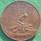 South African (Boer) War memorial medal 1900