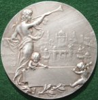 Imperial International Exhibition Medal 1909, silver