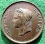 London International Health Exhibition 1884, bronze medal by LC Wyon