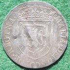 Mary Queen of Scots silver medal 1579