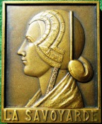 """La Savoyarde"" (the Savoy woman), bronze medal (1939)"