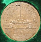 South Africa Boer War, City of London Volunteers Return to London 1900, bronze medal