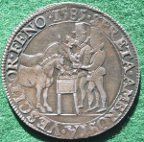 Elizabeth I, Assistance Given to the United Provinces 1585, silver medal