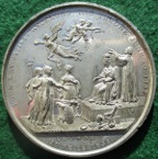 Victoria, Coronation 1838, white metal medal