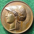 The Battle of Toulouse 1814, bronze medal