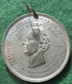 William IV Coronation & Sunday School Jubilee 1831, white metal medal