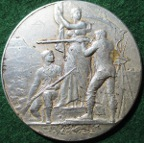 France, Shooting prize medal circa 1933
