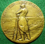 Belgium, Great War 1914-1918, �Firecard� medal issued 1930s, bronze
