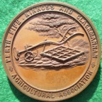 Perth, Fife, Kinross & Clackmannan Agricultural Association, bronze medal circa 1880