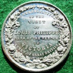 France/ Great Britain, Louis Philippe I, visit to England 1844