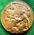 Liverpool, 700th Anniversary of its foundation as a borough 1207-1907, large bronze medal