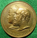 Preston, The Earl of Derby elected Guild Mayor 1902, bronze medal by Spink