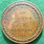 Magistrate�s Medal of Admission 1818, named to William Flower, by Younge & Deakin