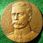 Lord Kitchener memorial medal 1916, bronze, by J-P Legastellois