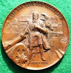 Switzerland, Solothurn Shooting Medal 1890 by Bovy
